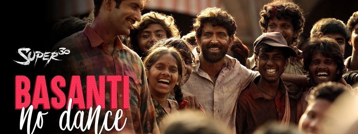 Hrithik Roshan releases new song from 'Super 30' titled 'Basanti No Dance'