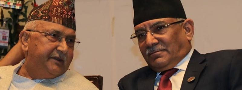 Nepal: Oli-Dahal tussle out in the open