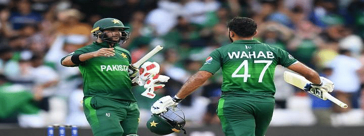 Pakistan beat Afghanistan by 3 wickets keep semi-final hopes alive