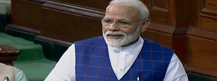 PM Modi flags vision of New India, commitment to democracy