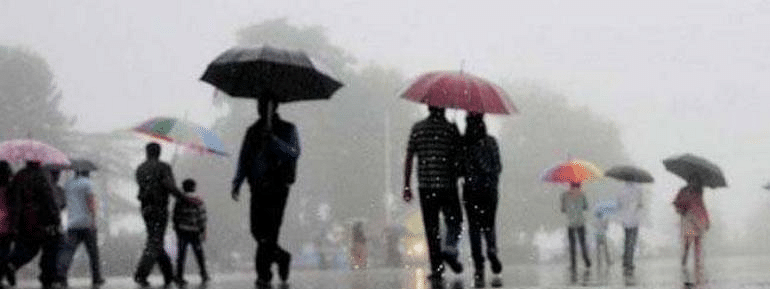 Thunderstorm, heavy rainfall disrupts life in HP