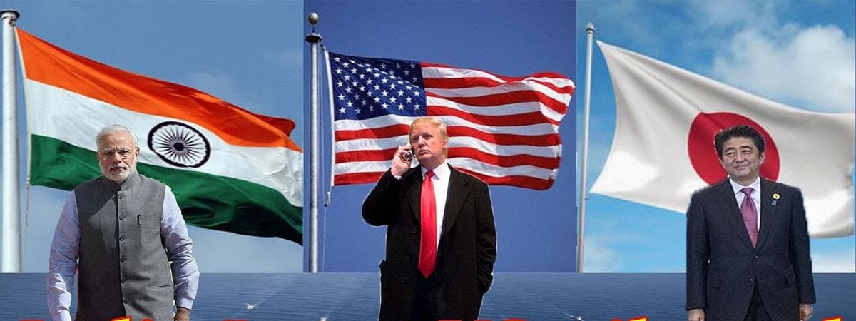 Japan, US and India begin trilateral talks