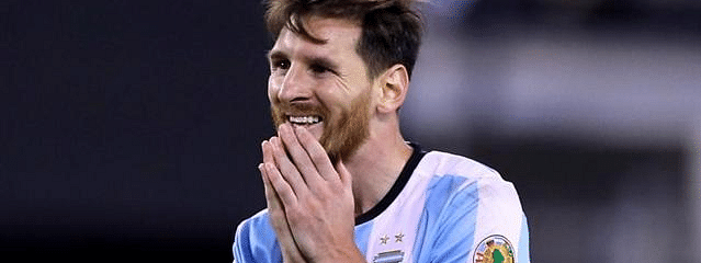I want to end my career with an Argentina win:  Messi