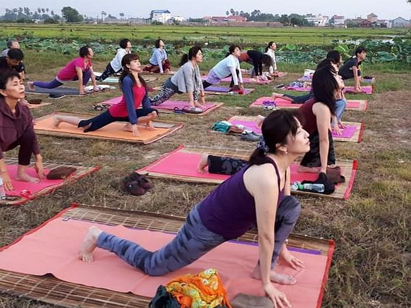 A Chinese village reaps yoga benefits