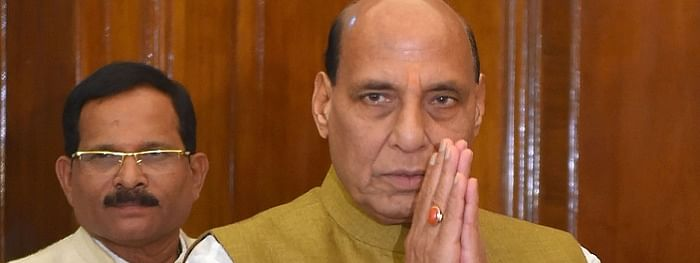 Rajnath Singh takes charge of Defence ministry