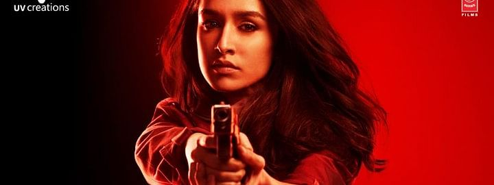 Shraddha Kapoor steals show in her first poster of 'Saaho'