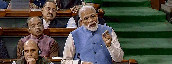 Only one family was spoken about and got all attention, says Modi
