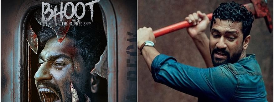 Release of first look poster of Vicky Kaushal's 'Bhoot'