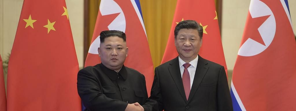 Xi gets lavish N Korean reception