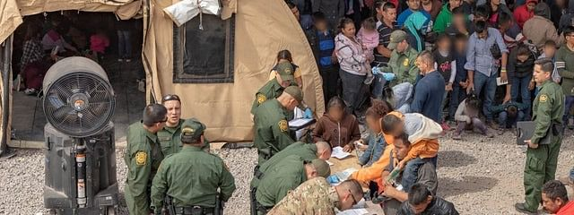 Dangerous overcrowding of detainees at Texas border facility