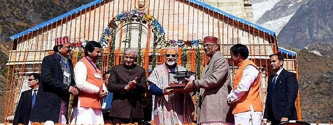 Going to Kedarnath was an opportunity to meet myself: PM