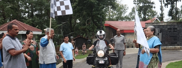 Nagaland Governor flags off bike rally for women empowerment