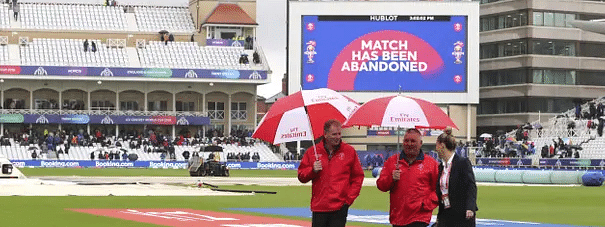India vs New Zealand: Match abandoned due to rain