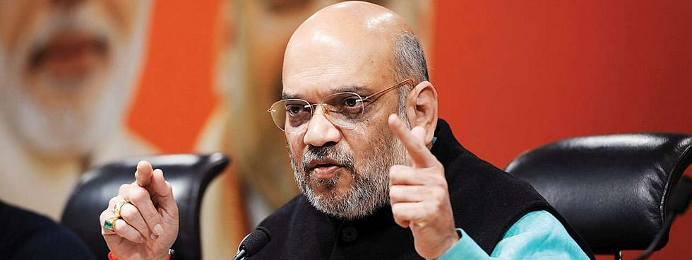 Amit Shah assumes charge as Home minister