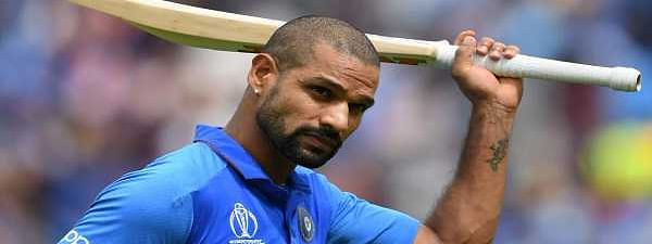 Dhawan ton helps India post 352 runs against Australia
