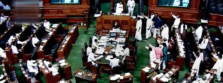 Lok Sabha paid homage to former departed members