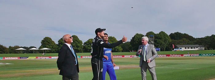 NZ win toss opt to field against Afghanistan