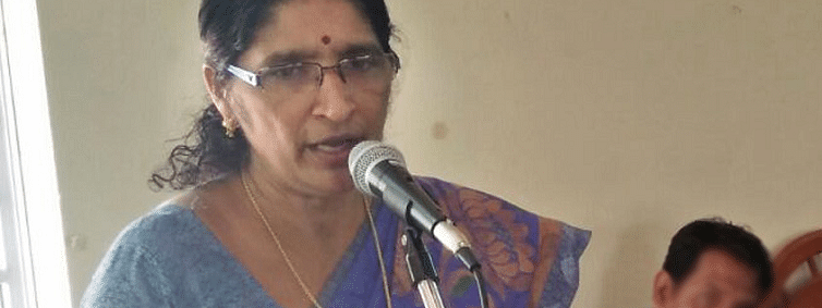 Anthoor municipal chief Shyamala to stay despite charges of role in entrepreneur's suicide
