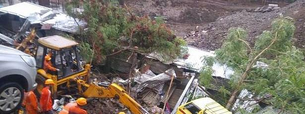 At least 15 feared dead as wall collapses in Pune