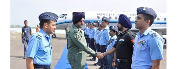 Chief of Air Staff visits Air Force Station Avadi