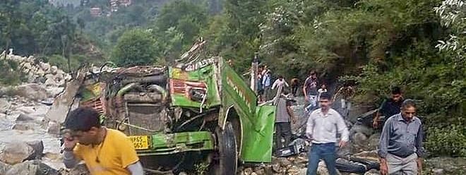 44 killed, over 30 injured as bus falls into gorge