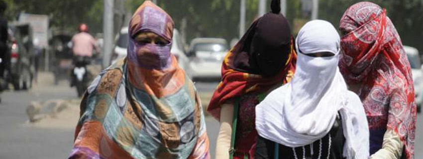 Severe heat wave in West Rajasthan and UP
