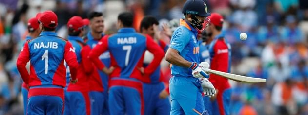 Afghanistan restrict India at 224/8