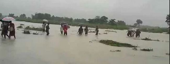 Floods inundate 17 Assam districts