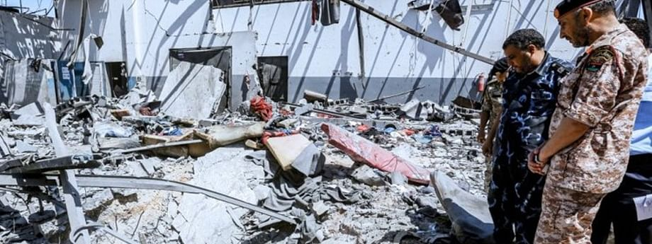 Six children among 53 fatalities after Libya detention centre airstrikes