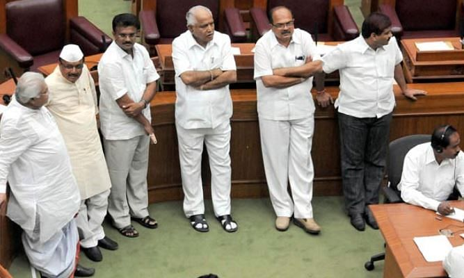 BJP to hold overnight dharna inside Assembly