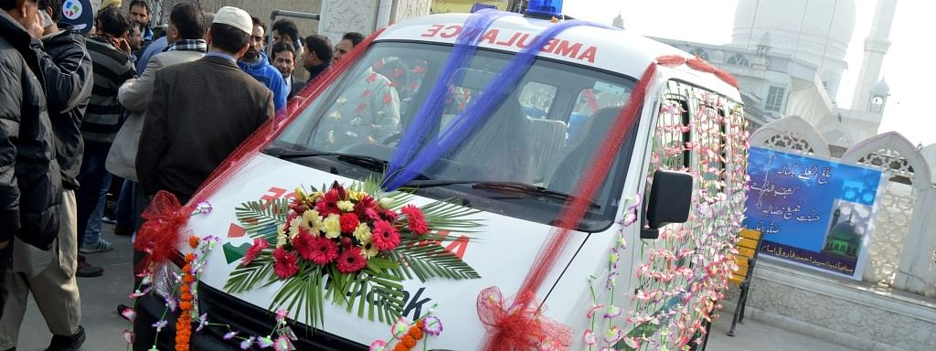 J&K to get 24x7 free ambulance service from Oct