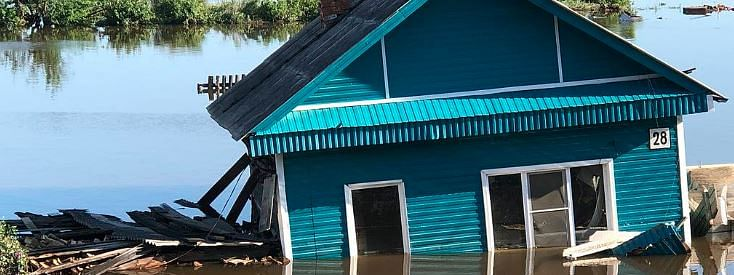 Floods: Over 220 people hospitalised in Russia's Irkutsk
