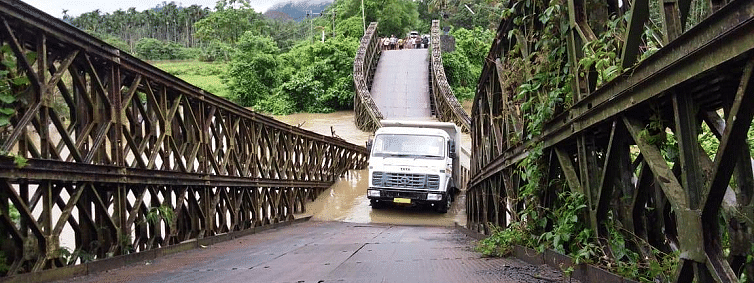 Bridge crisis continues in Middle Andaman; NHIDCL contractor in trouble