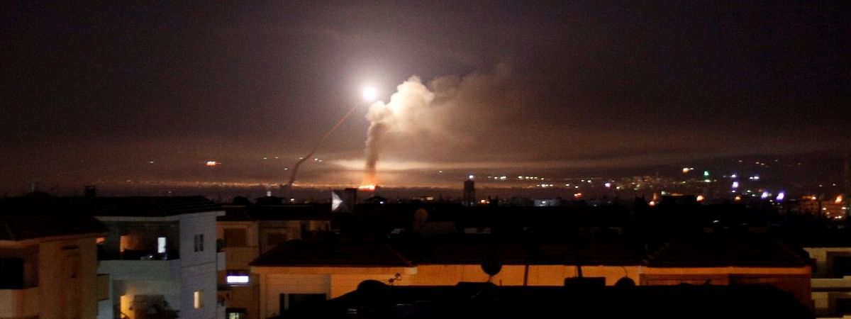 Four killed in Israeli air attack on Damascus