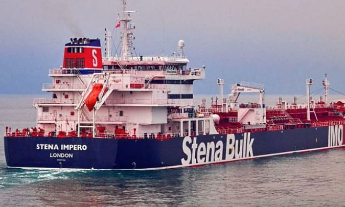 Indians among crew members of British tanker seized by Iran