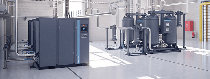Atlas Copco unveils 5 air compressors