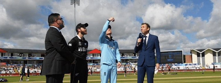 England win toss, opt to bat against New Zealand