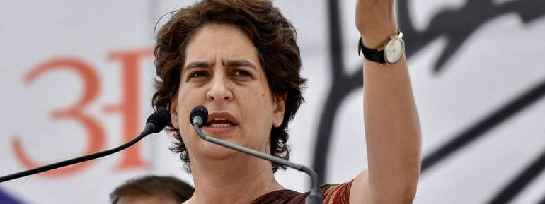 Priyanka mocks Modi govt over farm loan waiver