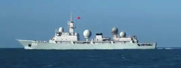 Chinese spy ship reportedly arrives off Queensland coast