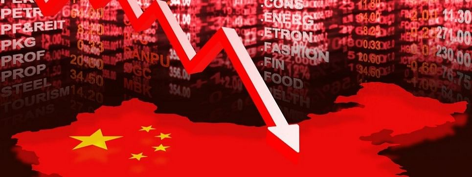 Slowdown in Chinese firms