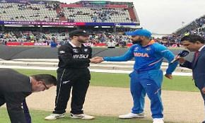 New Zealand win toss, opt to bat vs India