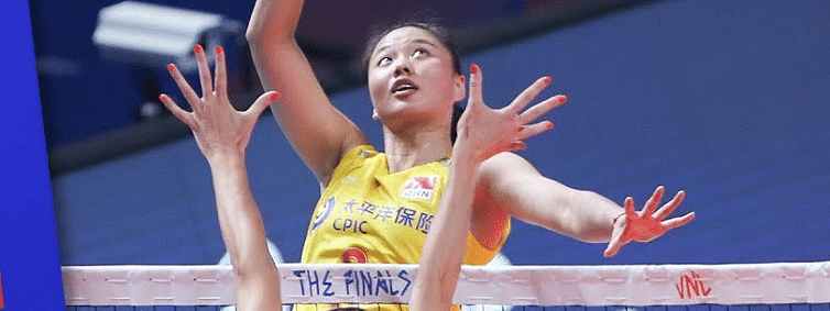 China secure last semifinal berth of VNL with a 3-1 win over Italy