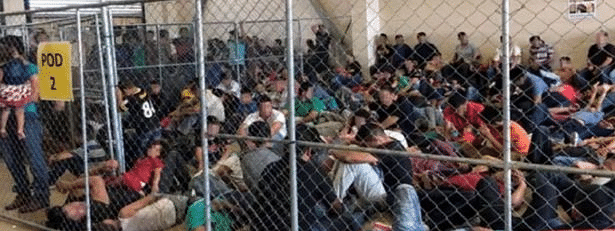 US migrant centres 'dangerously' overcrowded