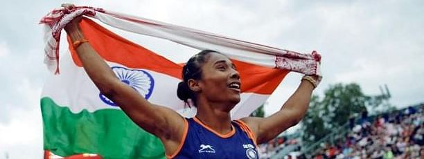 Hima Das, Muhammed Anas grab gold medals in Poland