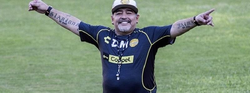 Maradona walking like 'when I was 15'