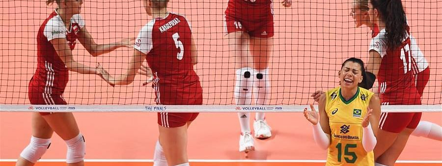 United States beat Brazil 3-1 in FIVB Women's VNL finals