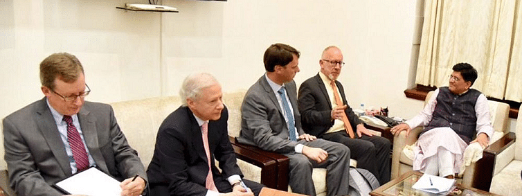 Goyal meets US officials to 'strengthen' trade