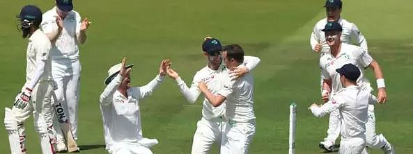 Horror collapse for England at Lord's; all out for 85 before lunch against Ireland