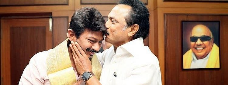 Stalin's son Udhayanidhi is DMK youth wing chief