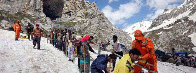 Fresh batch of 5486 pilgrims leave for Amarnath Cave
